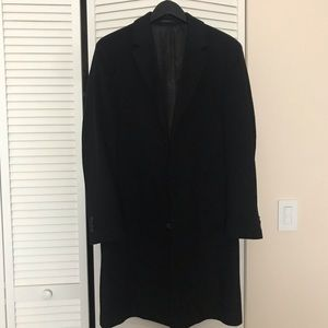 Men's Kenneth Cole Wool Long trench